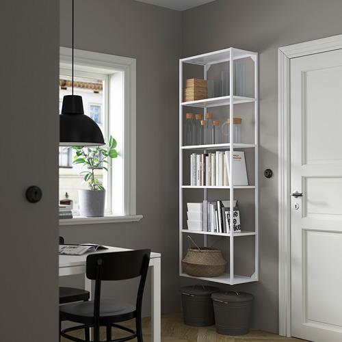 ENHET - 高櫃框架連層板, 白色 | IKEA 香港及澳門 - PE784125_S4