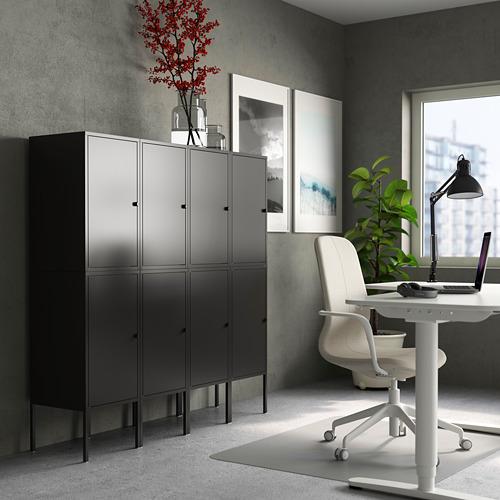 LIXHULT - 貯物組合, 炭黑色   IKEA 香港及澳門 - PE784142_S4