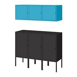 LIXHULT - storage combination, anthracite/blue | IKEA Hong Kong and Macau - PE784150_S3