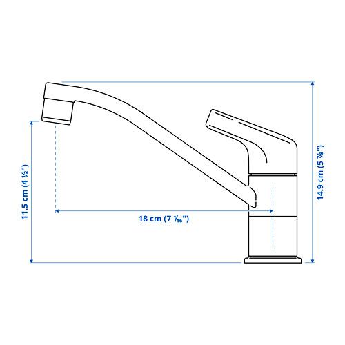 KALLSJÖN - 水龍頭, 鍍鉻 | IKEA 香港及澳門 - PE784154_S4