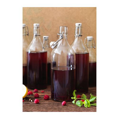 KORKEN - bottle with stopper, clear glass | IKEA Hong Kong and Macau - PE639584_S4