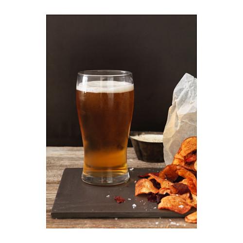 LODRÄT - 啤酒杯, 透明玻璃   IKEA 香港及澳門 - PE639587_S4