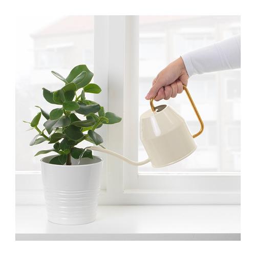 VATTENKRASSE - 澆水壺, 象牙色/金色   IKEA 香港及澳門 - PE687035_S4