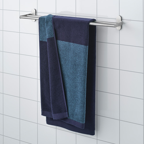 HIMLEÅN - 浴巾, 深藍色/混色 | IKEA 香港及澳門 - PE730192_S4