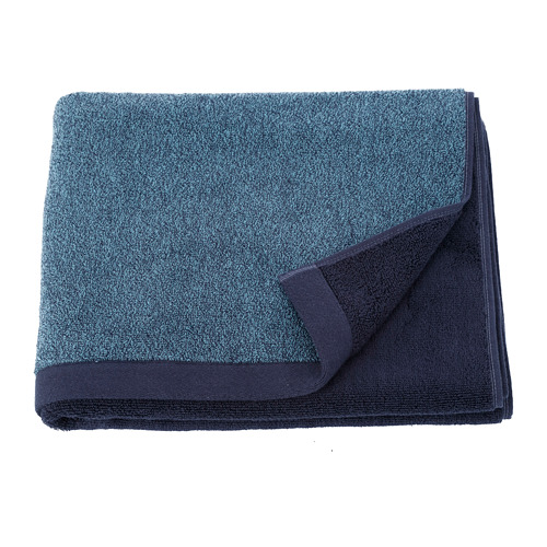 HIMLEÅN - 浴巾, 深藍色/混色 | IKEA 香港及澳門 - PE730194_S4