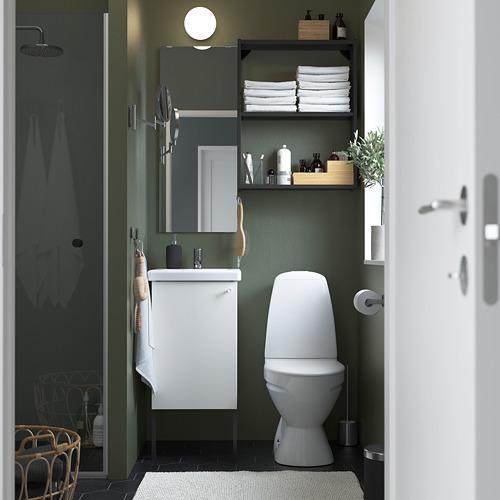 TVÄLLEN/ENHET - 浴室貯物組合 10件裝, 白色/炭黑色 PILKÅN水龍頭 | IKEA 香港及澳門 - PE784171_S4
