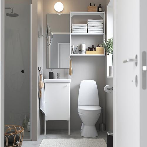 TVÄLLEN/ENHET - 浴室貯物組合 10件裝, 白色/PILKÅN水龍頭 | IKEA 香港及澳門 - PE784172_S4