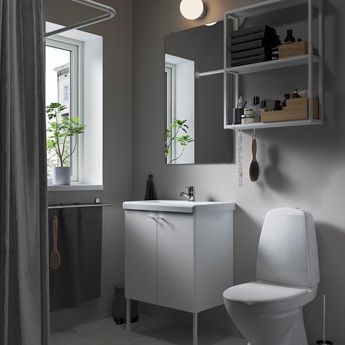 TVÄLLEN/ENHET - bathroom furniture, set of 11, white/Pilkån tap | IKEA Hong Kong and Macau - PE784179_S4