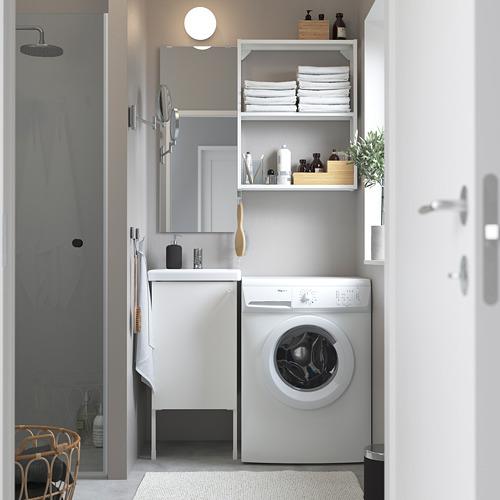 TVÄLLEN/ENHET - 浴室貯物組合 10件裝, 白色/PILKÅN水龍頭 | IKEA 香港及澳門 - PE784196_S4