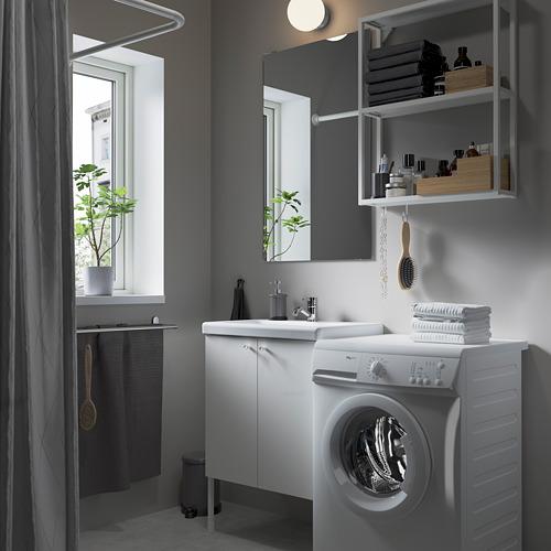 TVÄLLEN/ENHET - bathroom furniture, set of 11, white/Pilkån tap | IKEA Hong Kong and Macau - PE784189_S4