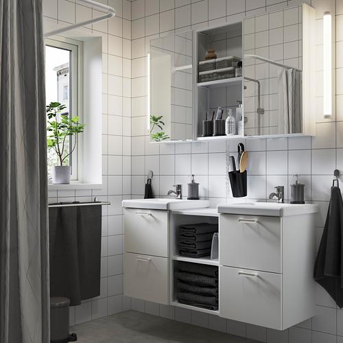 TVÄLLEN/ENHET - 浴室貯物組合 22件裝, white/Pilkån tap | IKEA 香港及澳門 - PE784211_S4