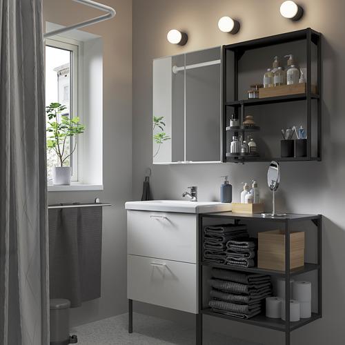 TVÄLLEN/ENHET - 浴室貯物組合 15件裝, 白色/炭黑色 PILKÅN水龍頭 | IKEA 香港及澳門 - PE784217_S4