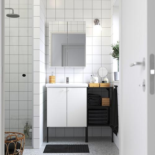 TVÄLLEN/ENHET - 浴室貯物組合 14件裝, 白色/炭黑色 PILKÅN水龍頭 | IKEA 香港及澳門 - PE784239_S4