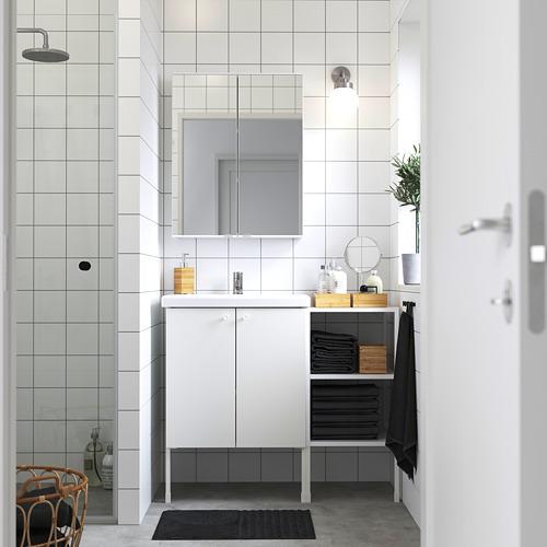 TVÄLLEN/ENHET - 浴室貯物組合 14件裝, 白色/PILKÅN水龍頭 | IKEA 香港及澳門 - PE784237_S4