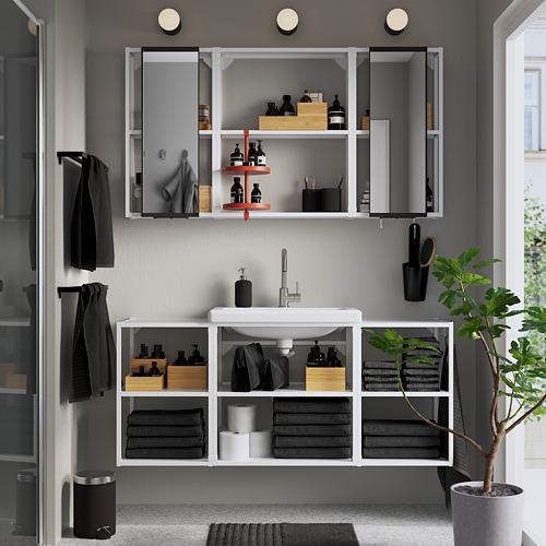 TVÄLLEN/ENHET - 浴室貯物組合 17件裝, white/Glypen tap   IKEA 香港及澳門 - PE784242_S4