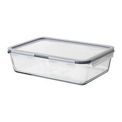 IKEA 365+ - 連蓋食物盒, 長方形/玻璃 塑膠, 3.1 升 | IKEA 香港及澳門 - PE687038_S3