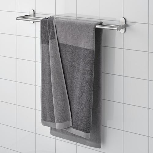 HIMLEÅN - 浴巾, 深灰色/混色 | IKEA 香港及澳門 - PE730221_S4