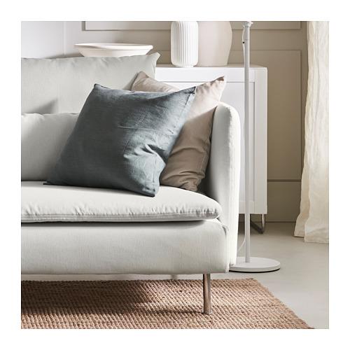 SÖDERHAMN - 4-seat sofa with chaise longue, Finnsta white   IKEA Hong Kong and Macau - PH165318_S4