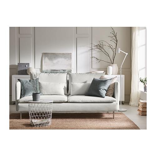 SÖDERHAMN - 3-seat sofa, Finnsta white | IKEA Hong Kong and Macau - PH163266_S4