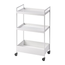 NISSAFORS - trolley, white | IKEA Hong Kong and Macau - PE784257_S3