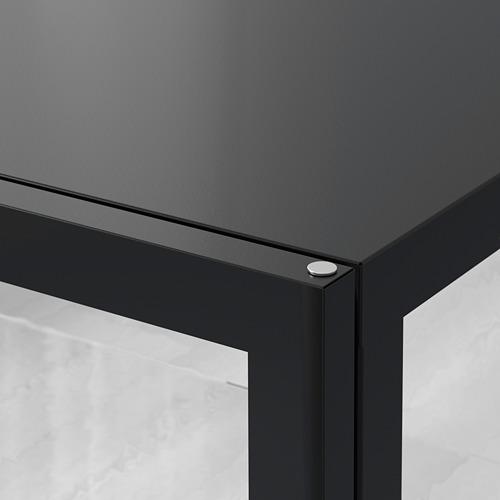 MILSBO - 玻璃門貯物櫃, 炭黑色 | IKEA 香港及澳門 - PE784270_S4