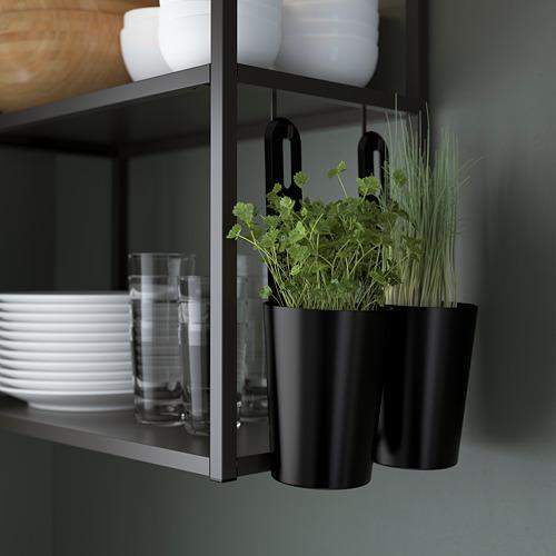 ENHET - 吊櫃框連層板, 炭黑色 | IKEA 香港及澳門 - PE784300_S4