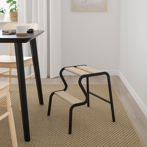 GRUBBAN - 腳踏, 黑色/樺木 | IKEA 香港及澳門 - PE784315_S4
