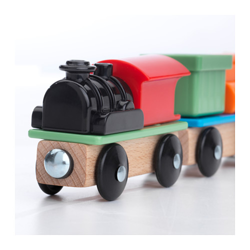 LILLABO - 火車玩具組合, 3件套裝 | IKEA 香港及澳門 - PE639649_S4