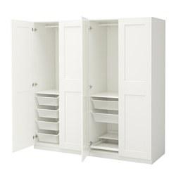PAX - wardrobe, white/Grimo white | IKEA Hong Kong and Macau - PE639695_S3