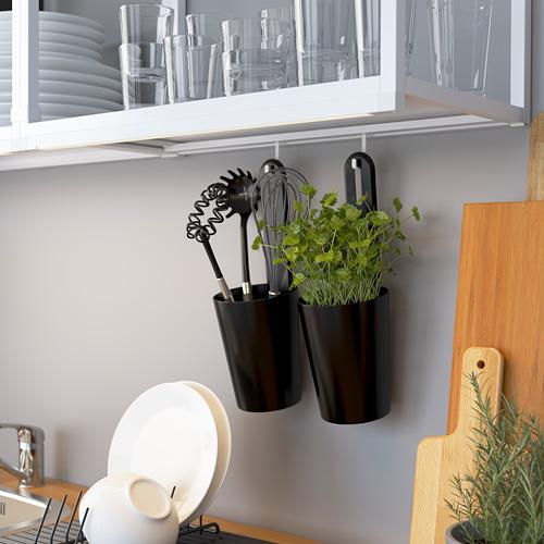 ENHET - storage combination for laundry, white/concrete effect | IKEA 香港及澳門 - PE784313_S4