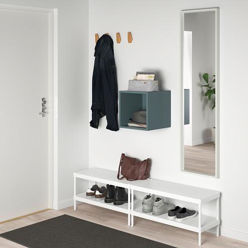 EKET - wall-mounted shelving unit, grey-turquoise | IKEA Hong Kong and Macau - PE784335_S4