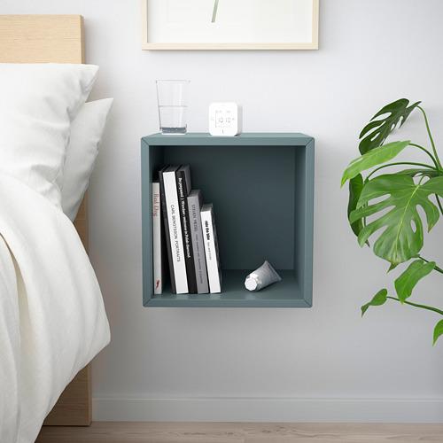 EKET - wall-mounted shelving unit, grey-turquoise | IKEA Hong Kong and Macau - PE784334_S4