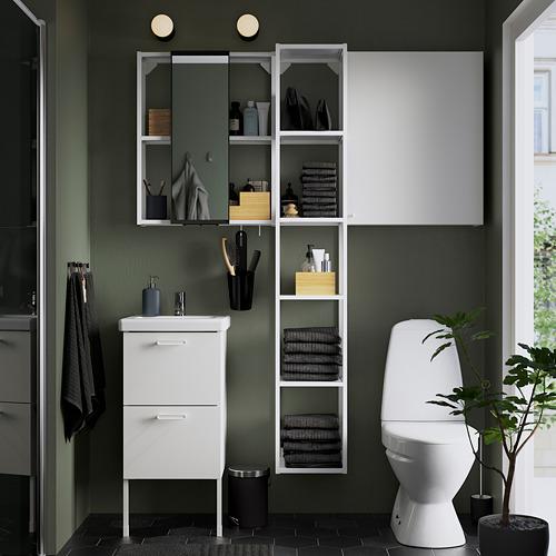TVÄLLEN/ENHET - bathroom furniture, set of 16, white/Pilkån tap | IKEA Hong Kong and Macau - PE784361_S4
