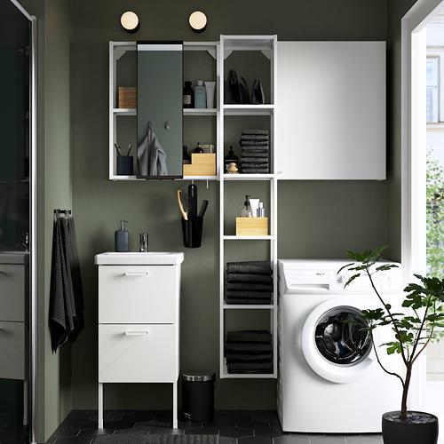 TVÄLLEN/ENHET - bathroom furniture, set of 16, white/Pilkån tap | IKEA Hong Kong and Macau - PE784362_S4