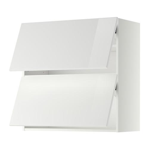 METOD - wall cab horizo 2 doors w push-open, white/Ringhult white | IKEA Hong Kong and Macau - PE367668_S4