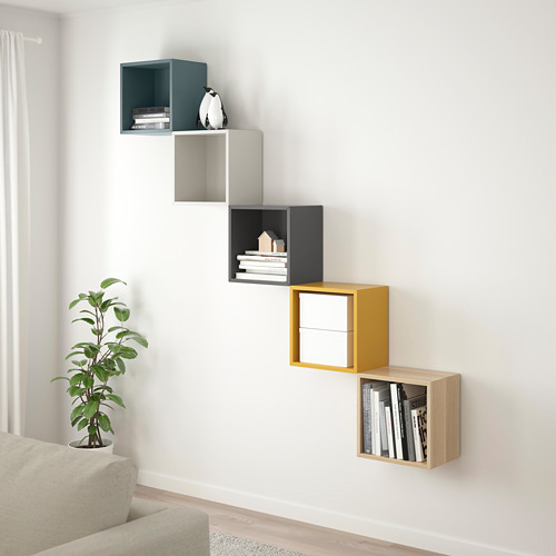 EKET wall-mounted storage combination