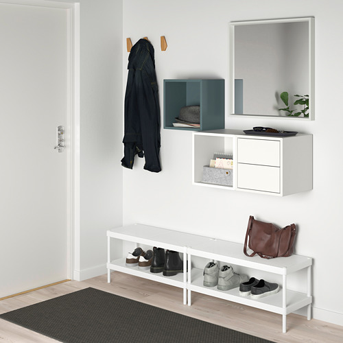 EKET wall-mounted storage combination