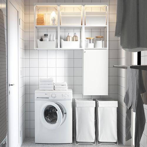 ENHET - storage combination for laundry, white   IKEA 香港及澳門 - PE784438_S4