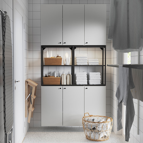 ENHET - 上牆式貯物架組合, anthracite/white   IKEA 香港及澳門 - PE784459_S4