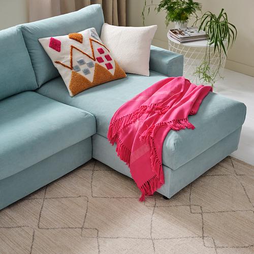 VIMLE - 4-seat sofa with chaise longue, Saxemara light blue | IKEA Hong Kong and Macau - PH177998_S4