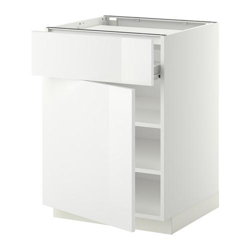 METOD base cab f hob/drawer/shelves/door