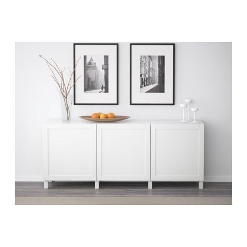 BESTÅ - 貯物組合連門, Hanviken 白色   IKEA 香港及澳門 - PE574365_S4
