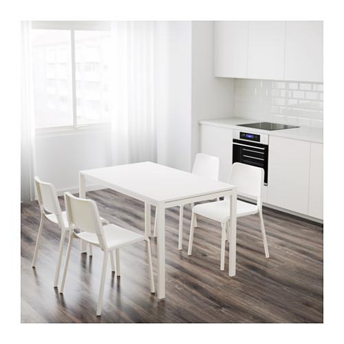 MELLTORP/TEODORES - table and 4 chairs, white/white | IKEA Hong Kong and Macau - PE639795_S4