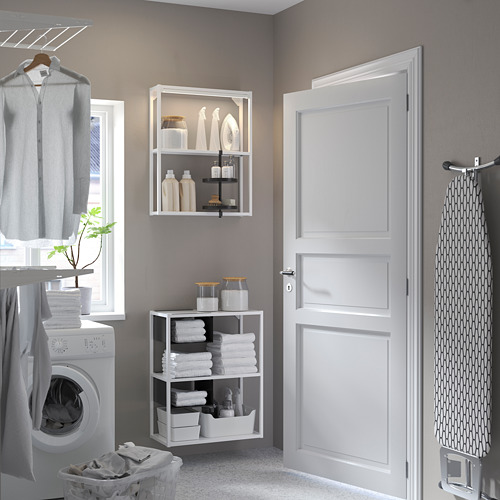 ENHET - 牆/地面貯物組合, 白色   IKEA 香港及澳門 - PE784484_S4