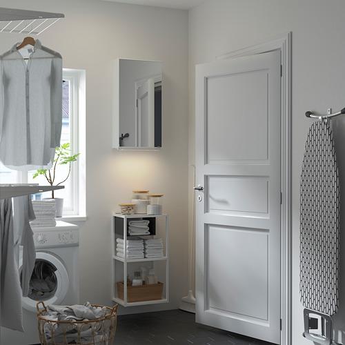ENHET - wall storage comb w mirror door, white | IKEA 香港及澳門 - PE784490_S4