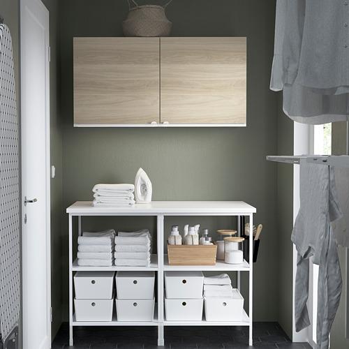 ENHET - 上牆式貯物架組合, white/oak effect   IKEA 香港及澳門 - PE784512_S4