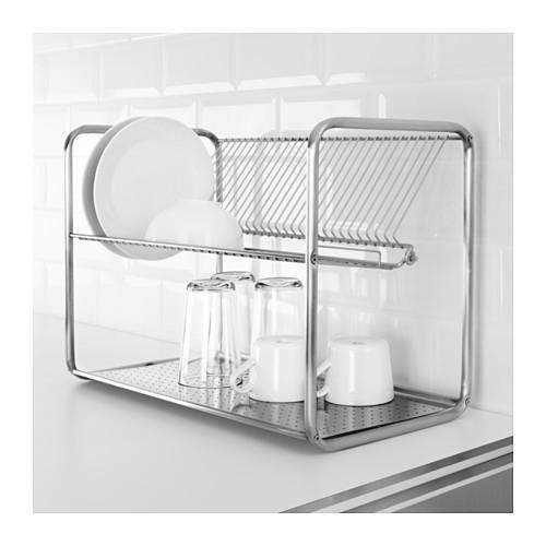 ORDNING - dish drainer, stainless steel | IKEA Hong Kong and Macau - PE639858_S4