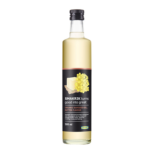 SMAKRIK - rapeseed oil, butter-flavoured organic | IKEA Hong Kong and Macau - PE687225_S4