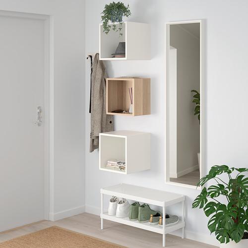 EKET - 上牆式貯物組合, 染白橡木紋/白色 | IKEA 香港及澳門 - PE730372_S4