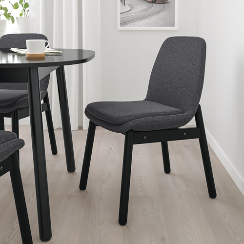VEDBO/VEDBO - table and 4 chairs, black/black | IKEA Hong Kong and Macau - PE772813_S4
